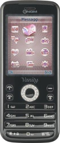 NGM Vanity Young Smartphone, Dual SIM, Nero [Italia]