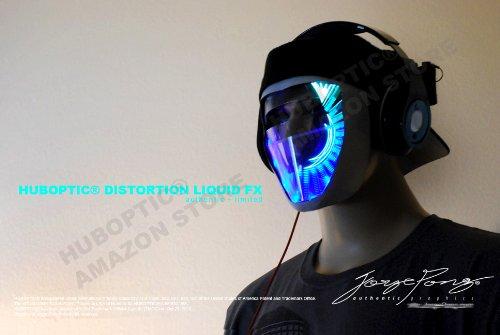 Huboptic HUB-M0028 Light Up Robot Style Mask