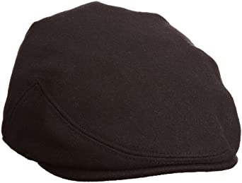 Goorin Bros. Men's Hard Eye Newsboy Cap, Black, Medium
