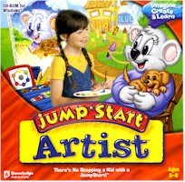 New Knowledge Adventure Jump Start Artist Compatible With Windows 98/Me/2000/Xp