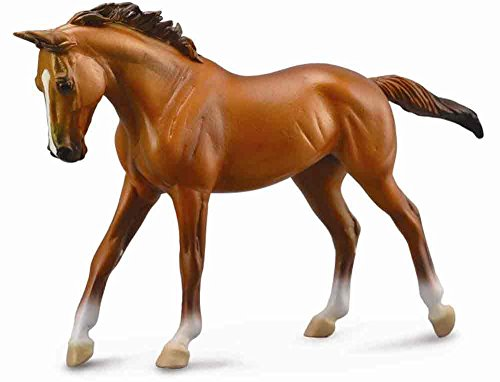 CollectA Thoroughbred Mare (1:12 Scale), Chestnut