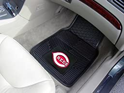 Exclusive By FANMATS MLB - Cincinnati Reds Heavy Duty 2-Piece Vinyl Car Mats
