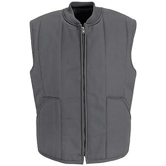 Red Kap Quilted Vest, Charcoal, LNXXL VT22CHLNXXL