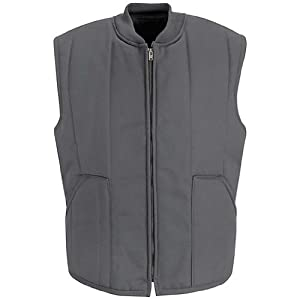 Red Kap Quilted Vest, Charcoal, RGS VT22CHRGS