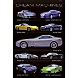 Dream Machines Cars Poster Art Print