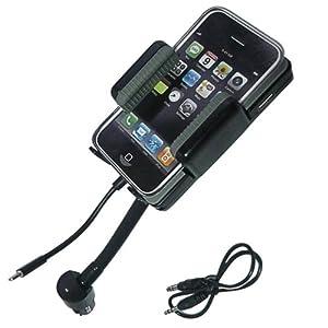 【Yjb】iPhone5/iPod用 (Lightningコネクタタイプ)FMトランスミッター 国内仕様タイプ