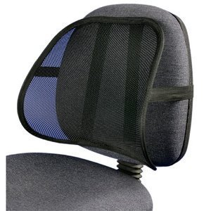 mesh back lumbar support for your car seat chair health
