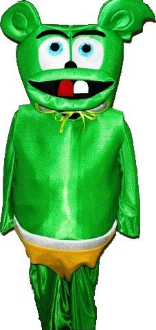 Gummy Bear suit Cartoon Mascot Costume Carnival Uniform New Halloween Fun Fancy