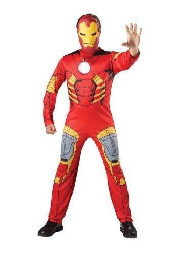 Ironman Kostüm Superheld Iron Man Faschingskostüm Comic Karnevalskostüm Filmkostüm Marvel XL 56 58