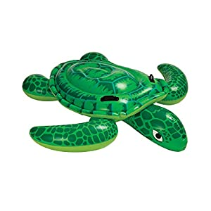"""Intex Sea Turtle Ride-On, 75"""" X 67"""", for Ages 3+"""