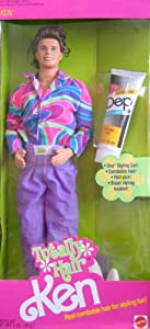 Barbie KEN Totally Hair Ken Doll (1991)