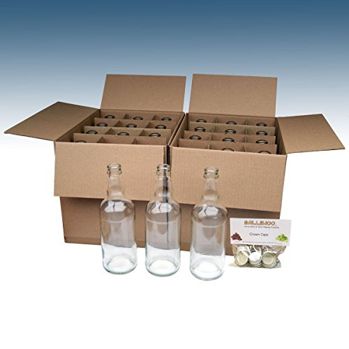 homebrew-balliihoor-500ml-clear-glass-beer-bottles-x24-including-crown-caps