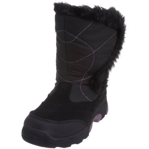 HI-TEC Ladies Park City Sport 200 Winter Boots, Black, US9