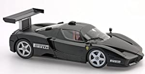 "FERRARI ENZO ""HIGH END"" REPLICA ""TEST MONZA"" (LIMITED EDITION OF 509 PIECES) MATT BLACK Diecast Model Car"