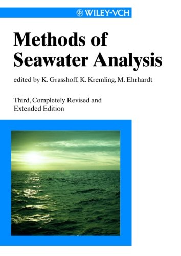 Methods of Seawater Analysis