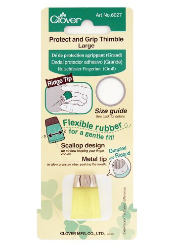 Learn More About Clover 6027 Protect and Grip Thimble