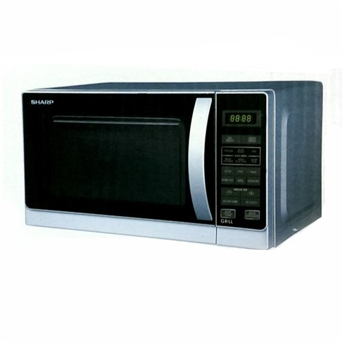 Sharp R-62A0(S)V 800-Watt Microwave Oven With Grill, 20-Liter front-612516