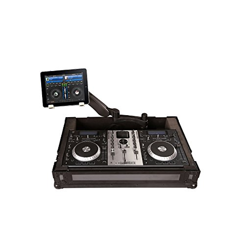 Gator Tour Series G-Tour Ddjt1-S1-Arm1-Pl Dj Case With Adjustable 360 Degree Laptop, Tablet, Or Monitor Arm