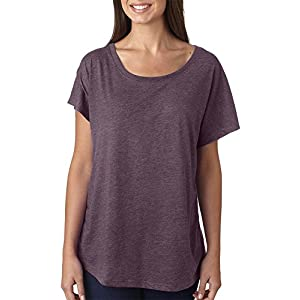 Next Level Tri-Blend Dolman - Vintage Purple - XL
