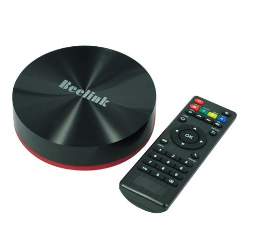 Beelink M8 Quad Core Android Tv Smart Box M8 Amlogic S802 2Ghz 2.4G/5Ghz Dual Band Wifi 2G/16G Mali450 Gpu 4K*2K 4K Hdmi Xbmc Media Player Support 3D Blu-Ray Iso Bluetooth 4.0