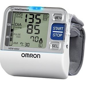 Image of Omron Bp652 7 Series Blood Pressure Wrist Unit & FREE MINI TOOL BOX (ml) (B0087FQF18)