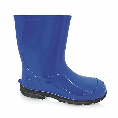 LEMIGO Kinder Gummistiefel Regenstiefel OLI (34, blau)