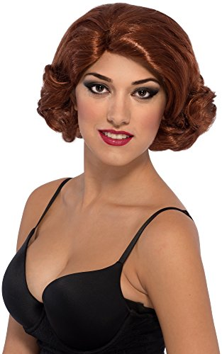Avengers 2 Age of Ultron Deluxe Black Widow Wig - 1
