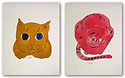 "Untitled (Red and Gold Sam - Cats from ""25 Cats Named Sam and One Blue Pussy""),"