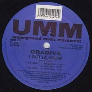 Gradiva - I Gotta Know