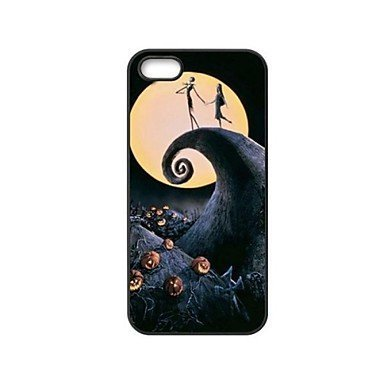 The Nightmare Before Christmas CeeMart Cover rigida in plastica per iPhone 5/5S