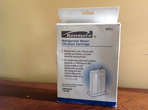 Kenmore 46-9911 / WF2CB Refrigerator Water Filtration Cartridge (Kenmore Fridge Filter 9911 compare prices)