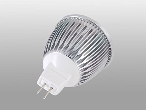 Senko Mr16 5W 3200K Warm White Led Light (Silver)