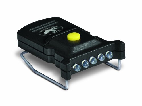 Duck Commander Cyc-Mhcw-Dc Micro 5 Led Hat Clip, Black