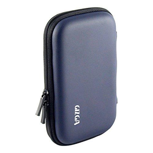 "GIZGA 2.5"" HDD CASE HARD SHELL Dark Blue Colour"