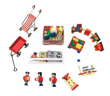 Victorian Nursery Accessory Set - Buy Victorian Nursery Accessory Set - Purchase Victorian Nursery Accessory Set (Melissa & Doug, Toys & Games,Categories)
