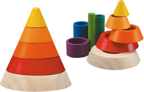 41AOCPvpNBL Reviews Plan Toys Cone Sorting