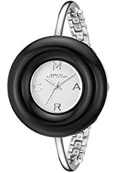 Marc by Marc Jacobs Women's MBM3397 Analog Display Analog Quartz Silver Watch