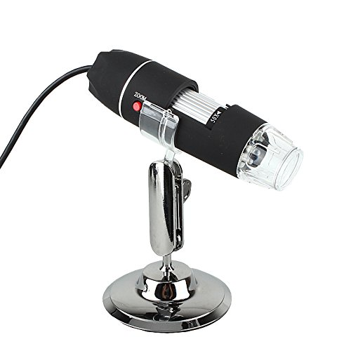 Handheld 25X-200X 8 Led Light Usb Digital Microscope Endoscope Video Camera Magnifier