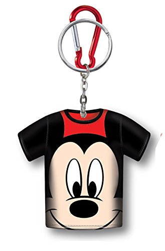 Disney Mickey T-Shirt Coin Holder Keyring