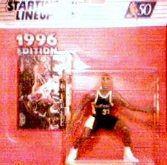 Reggie Miller 1996 Edition Starting Lineup NBA Action Figure [Toy] - 1