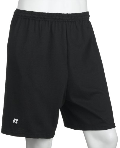 Russell Athletic Men's Athletic Pocket Short, Black, XXXX-Large (Big And Tall Shorts compare prices)
