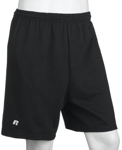 Russell Athletic Men's Athletic Pocket Short, Black, XXXX-Large