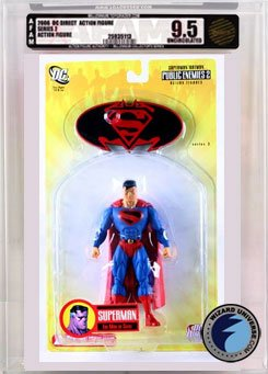 Picture of AFA Superman/Batman 3: Future Superman Action Figure AFA Millennium 9.5 (B000REE4A6) (Batman Action Figures)