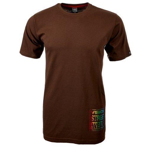 Vision Street Wear Multi Color Logo T-Shirt , carafe