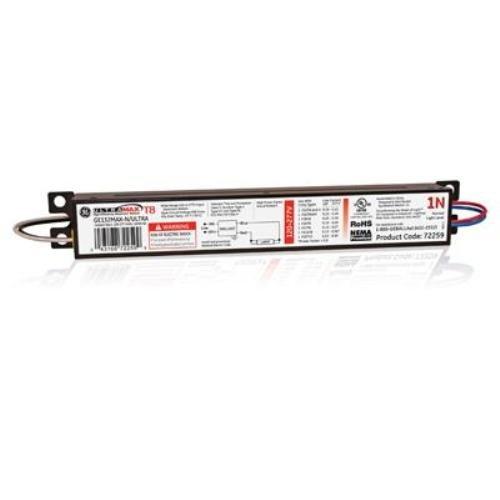 Ge Lighting 72259 Ge132Max-N/Ultra 120/277-Volt Ultramax Electronic Fluorescent T8 Multi-Volt Instant Start Ballast 1 F32T8 Lamp