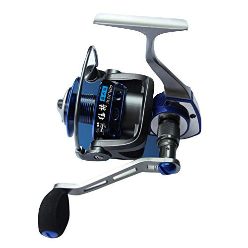 Winbest 4+1bb Blue Oversea Anti-rust Spinning Reel MJH3000(3000 Series) (Open Face Catfish Reels compare prices)