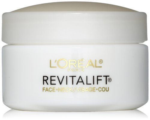 L'Oreal Paris discount duty free L'Oreal Paris Advanced RevitaLift Face and Neck Day Cream, 1.7 Ounce