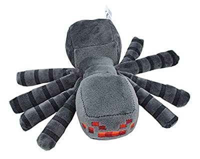 "Haapy-toy, 7"" Spider Plush Mini Toy by Mojang"
