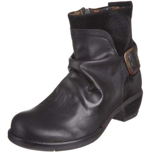 Fly London Women's Mel Ankle Boot Black P141633003 8 UK