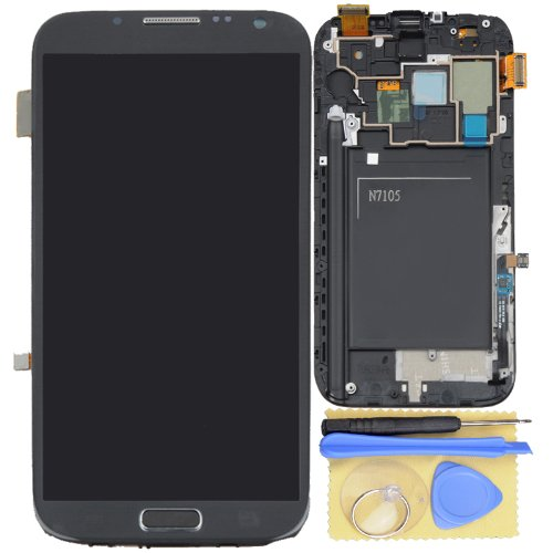 Lcd Touch Screen Digitizer Assembly With Frame For Samsung Galaxy Note 2 T889 I317 N7105 Grey